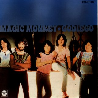 Magic Monkey CD (front picture)